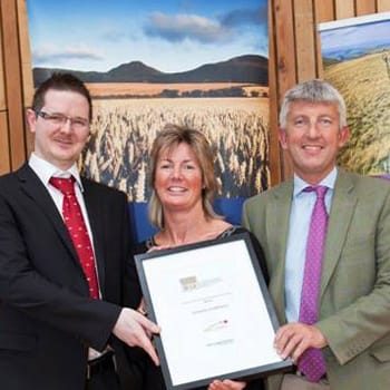 A Hume Wins Scottish Borders Business Excellence Award