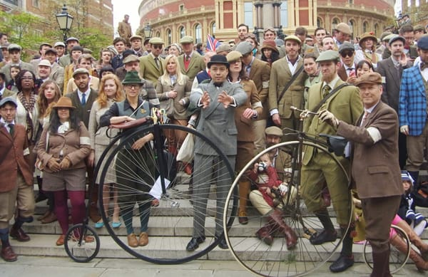 London Tweed Run 2012 - Courtesy of Velo Vintage
