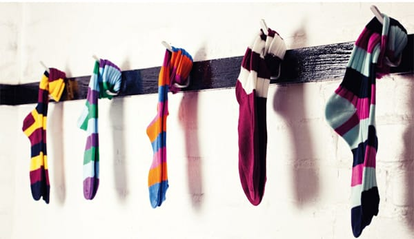Scott Nichol Socks: Bright, Bold and Fun