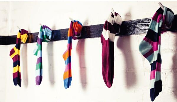 Scott Nichol Socks: Bright, Bold and Fun