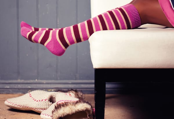 Ladies - you too | Scott Nichol Colourful Socks