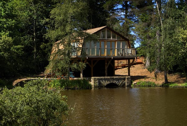 The Boat House at Middleton Hall, the perfect bolthole