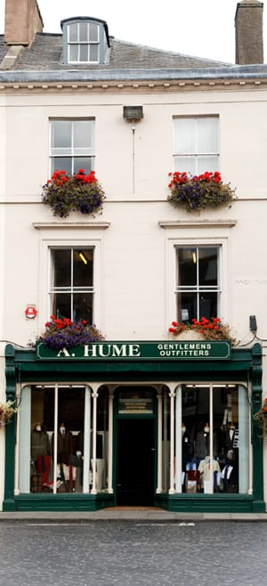 Contact Us - image of the front of our shop, A Hume Country Clothing