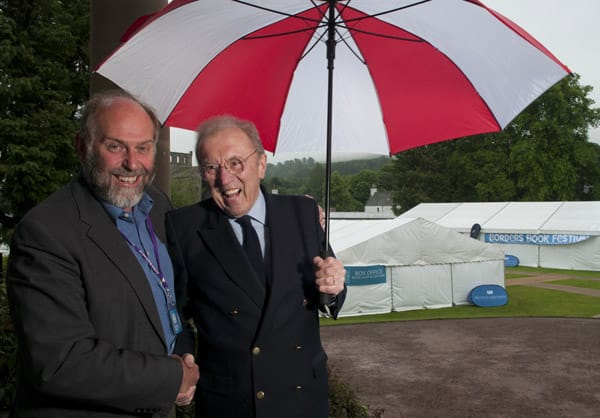 Borders Book Festval 2012, Sir David Frost