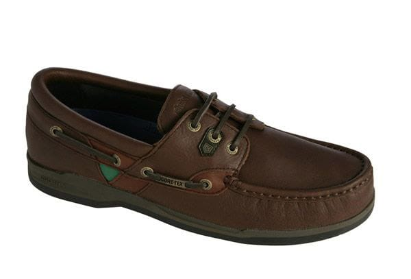 Dubarry Helmsman Deckshoe preferrable to trainers in every way.