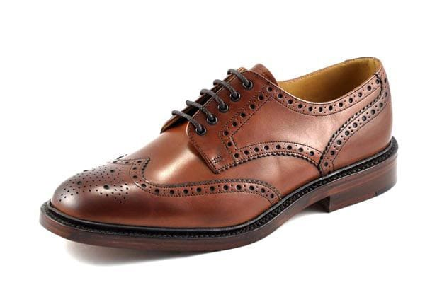 The Chester country brogue by Loake.