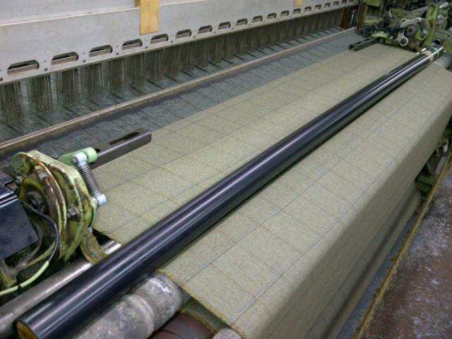 Producing cloth is a labour of love played out on traditional looms.