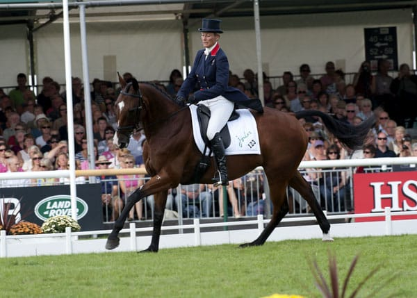Mary King, Olympic Sivler Medalist, riding Kings Temptress at Burghley Horse Trials 2011.