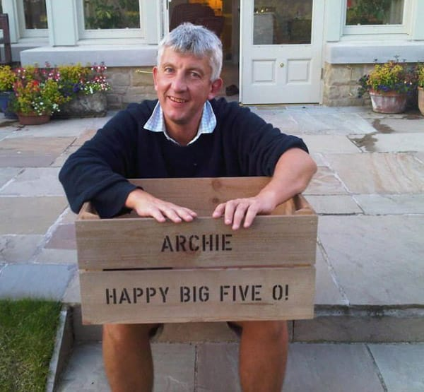 Happy 50th Archie!