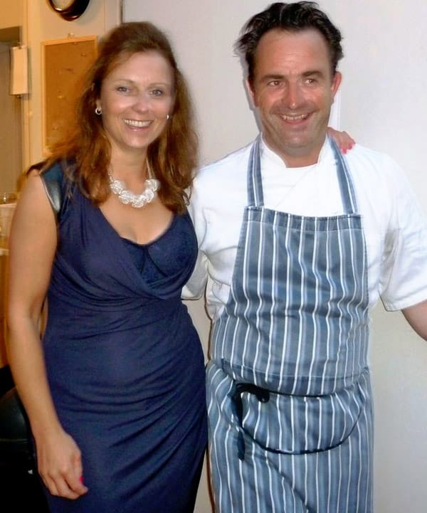 A BIG thank you to A Hume Model BiA BIG thank you to A Hume Model Billy Hamilton, pictured in here in his chef's whites, and also his gorgeous wife Rachael.