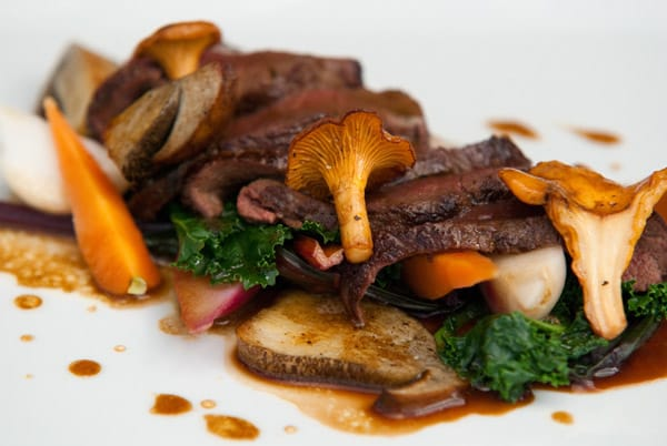 monachyle venison and chanterelles