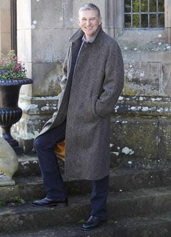 Magee Donegal Corrib Tweed Overcoat