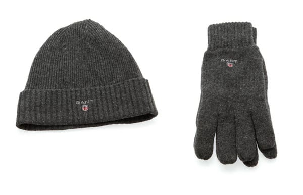 Gant Lambswool Hat and Gloves