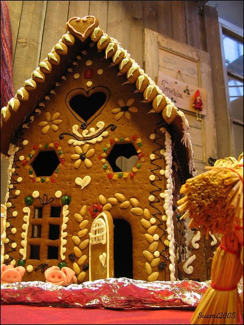 Gingerbread House Competition in aid of Children 1st
