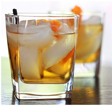 Winter Inspired Old Fashioned