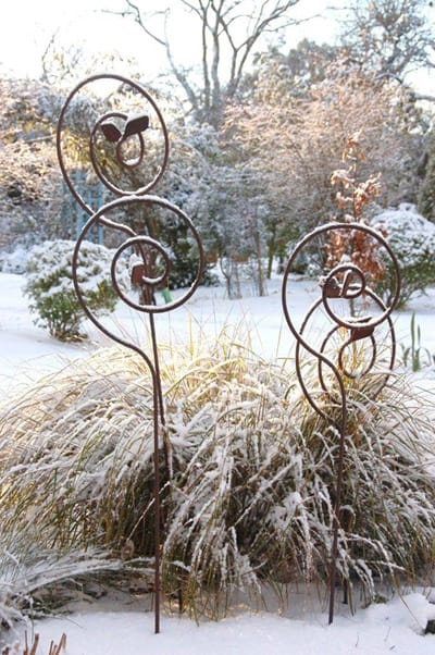 Shepherd Hse Metal Art by Anrea Geile