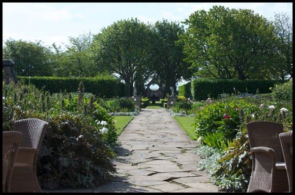 Greywalls Garden, Greywalls Hotel, East Lothian.