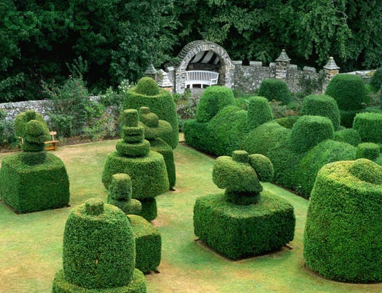 Topiary Garden at Earlshall Castle