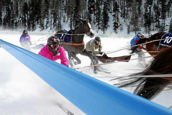 White Turf St. Moritz: Skikjoering Credit Suisse GP of Sils