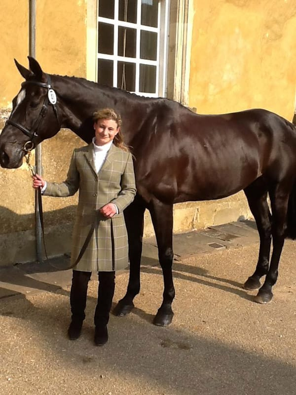 Emily Galbraith Badminton Trot Up