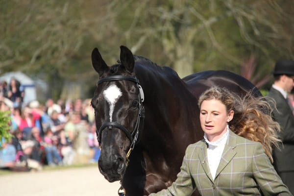 emily galbraith badminton trot up 1