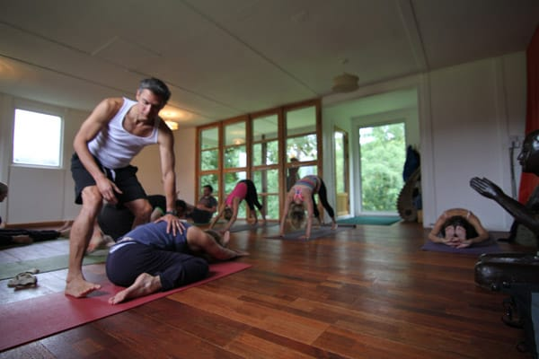 Yoga at the EcoYoga Centre