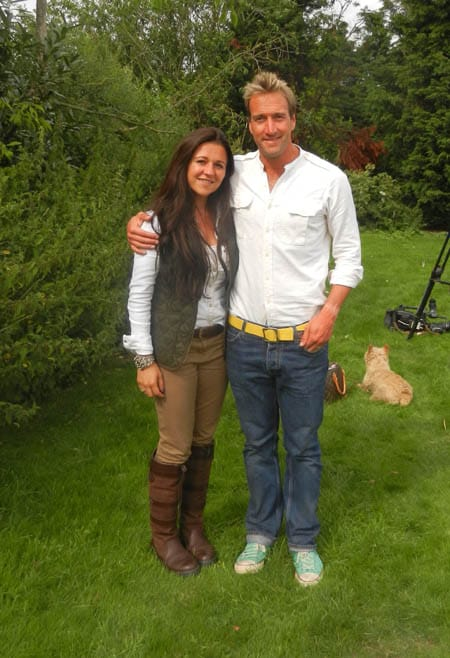 amy stevenson and ben fogle