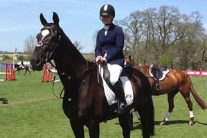 Borders Talent Emily Galbraith's First Time at Burghley