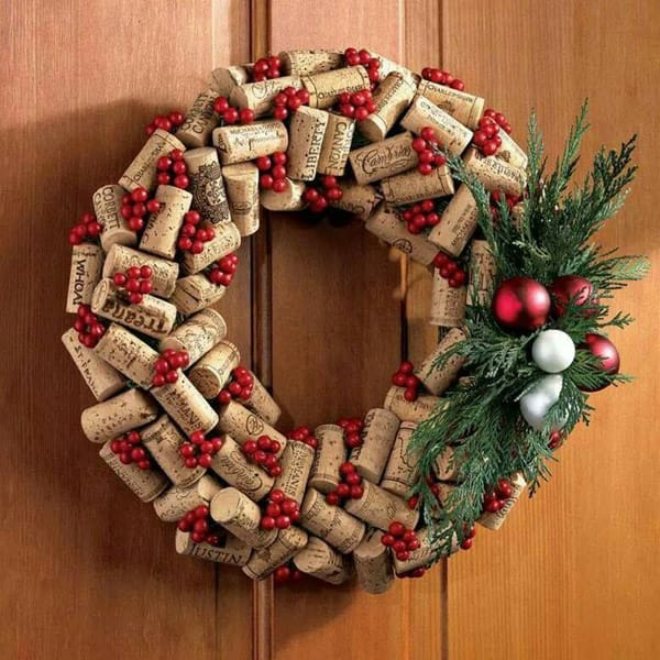 cork wreath 2