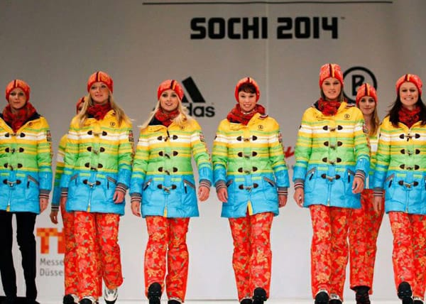 german athletes uniforms