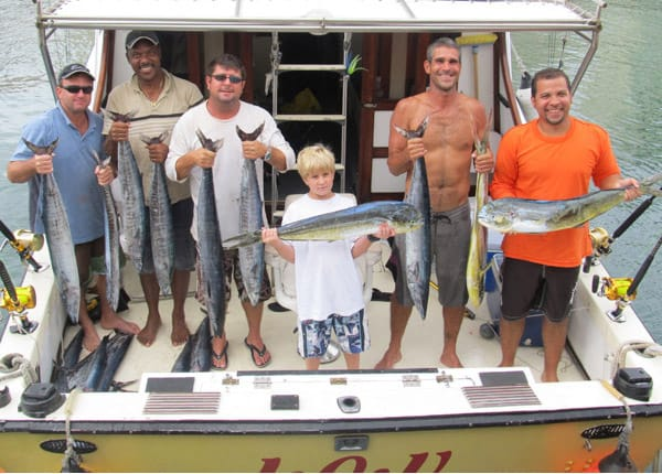happy fishing IOU Charters