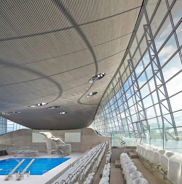 london aquatics centre diving pool