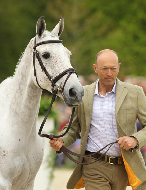 Bill Levett and Silkstone, Badminton 2014