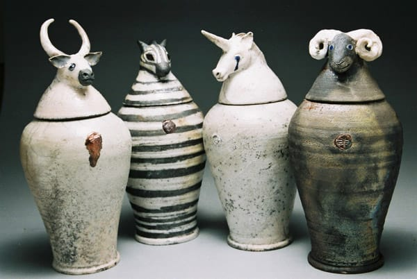 Animal Guardian Jars