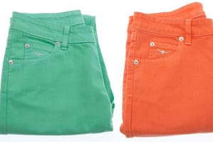 Sizzlin' Hot Colour for Summer Jeans