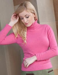 Johnstons of Elgin 2 ply Cashmere Roll Neck
