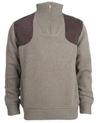 Barbour Fellan Sports Half Zip Sweater
