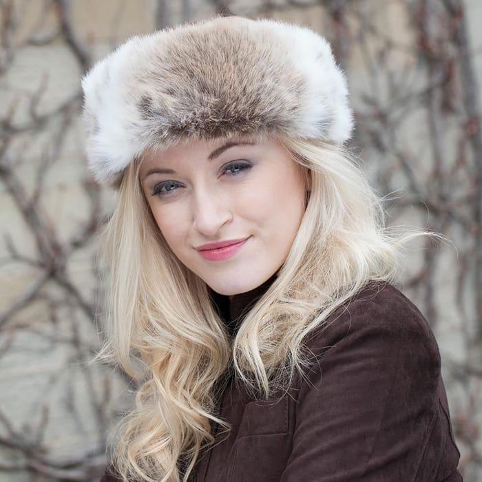 Helen Moore Fur Headband
