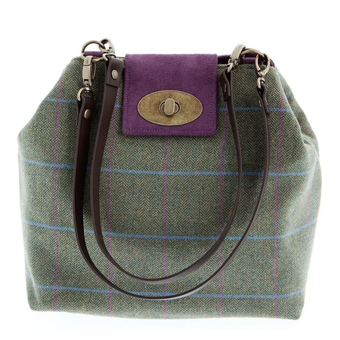 A Hume Limited Edition Anniversary Tweed Shoulder Bag