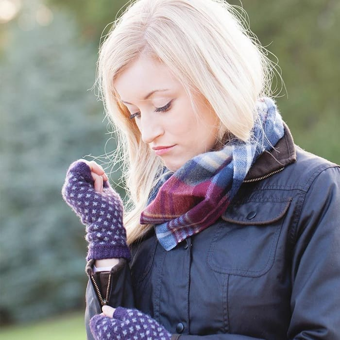 Barbour Wilton Fingerless Gloves