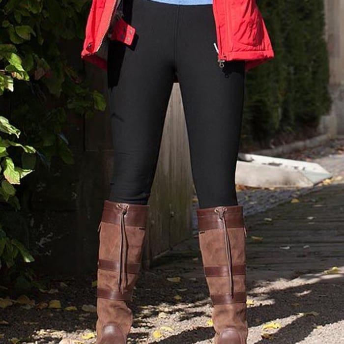 Amazing Woman Fur Lined Leggings