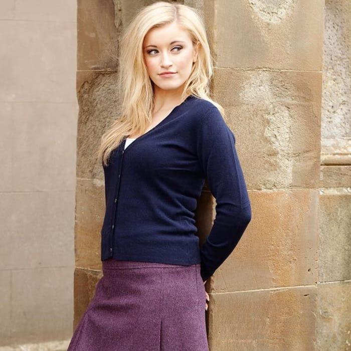 Magee Tweed Mini Skirt