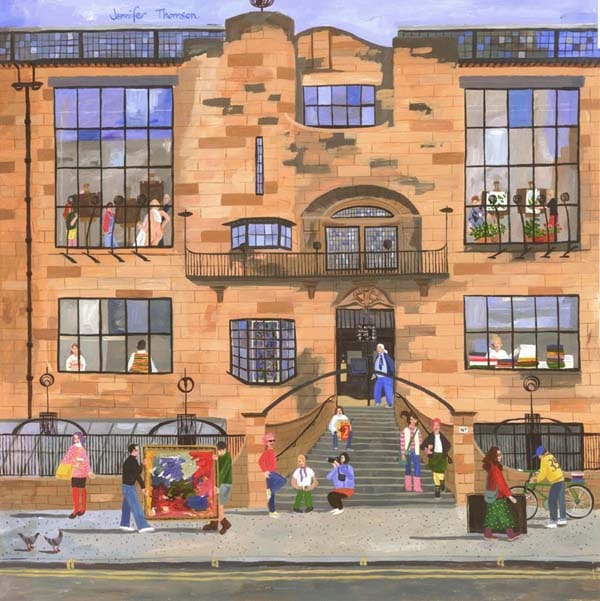 Term Time, Glasgow School of Art by Jennifer Thomson.