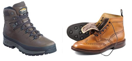 Meindl Bhutan Boots and Loake Wolf Boots