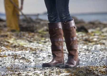 dubarry on the beach