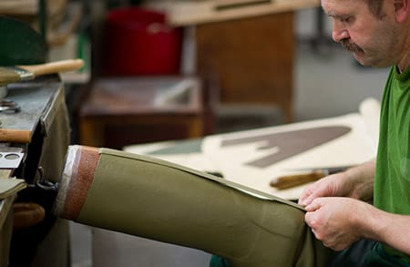 Le Chameau boots are made using the same techniques perfected by