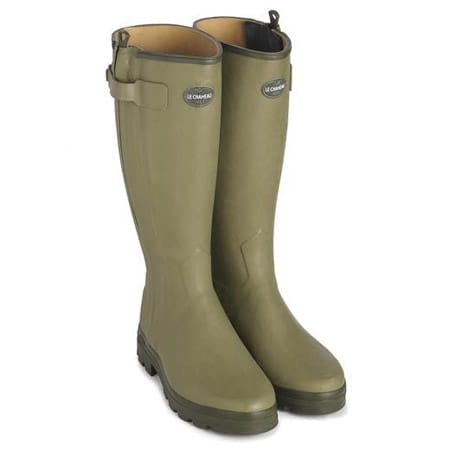 Le Chameau Chasseur Wellingtons - the best wellies money can buy.