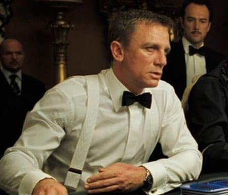 Bond of course wears Albert Thurston braces. Image source: Pinterest.