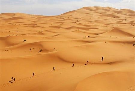 The Marathon de Sable. Image source: Pinterest.