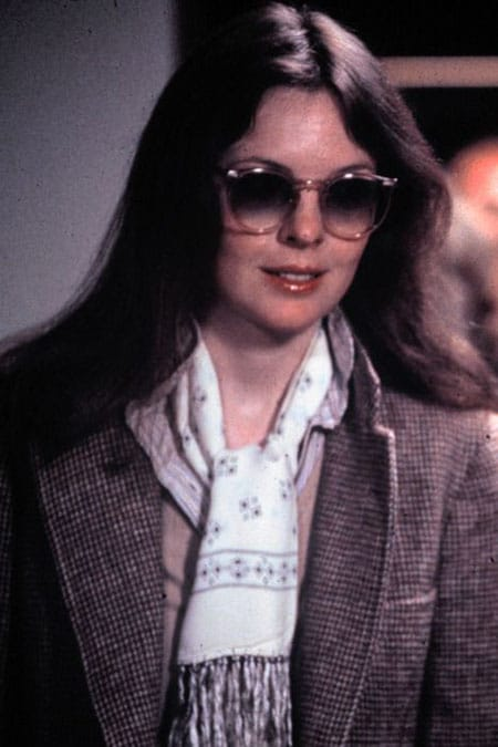 Diane Keaton wearing tweed in Annie Hall